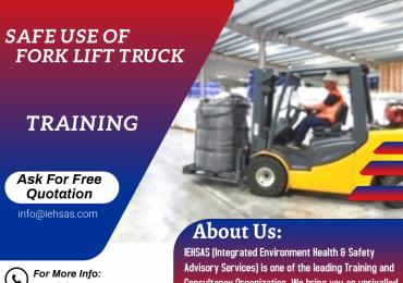 Safe Use of Fork Lift Truck