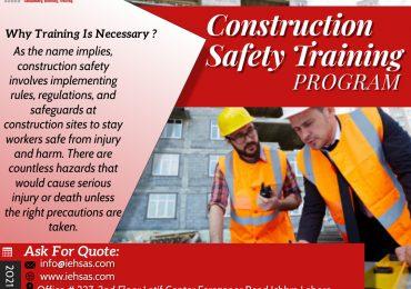 Construction Safety Training program